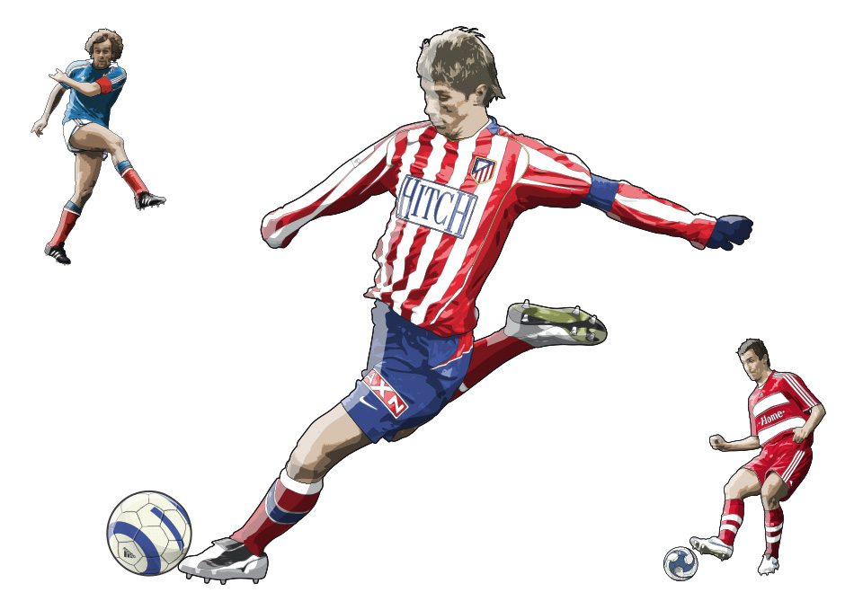 mike-garland-torres-DK-football-book-Freelance Illustrator / Illustration