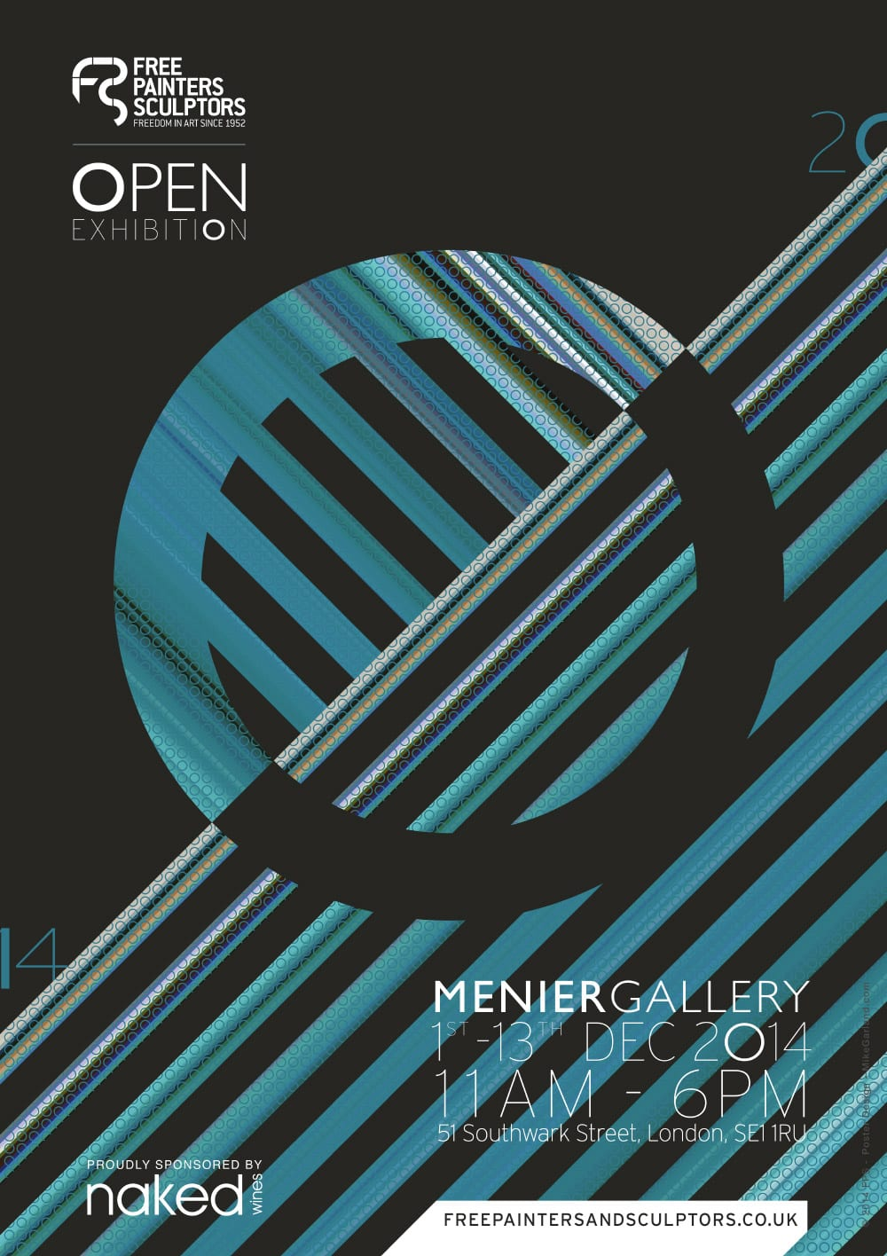Mike-Garland-FPS-Menier-Gallery-Open-Exhibition-Poster-2014