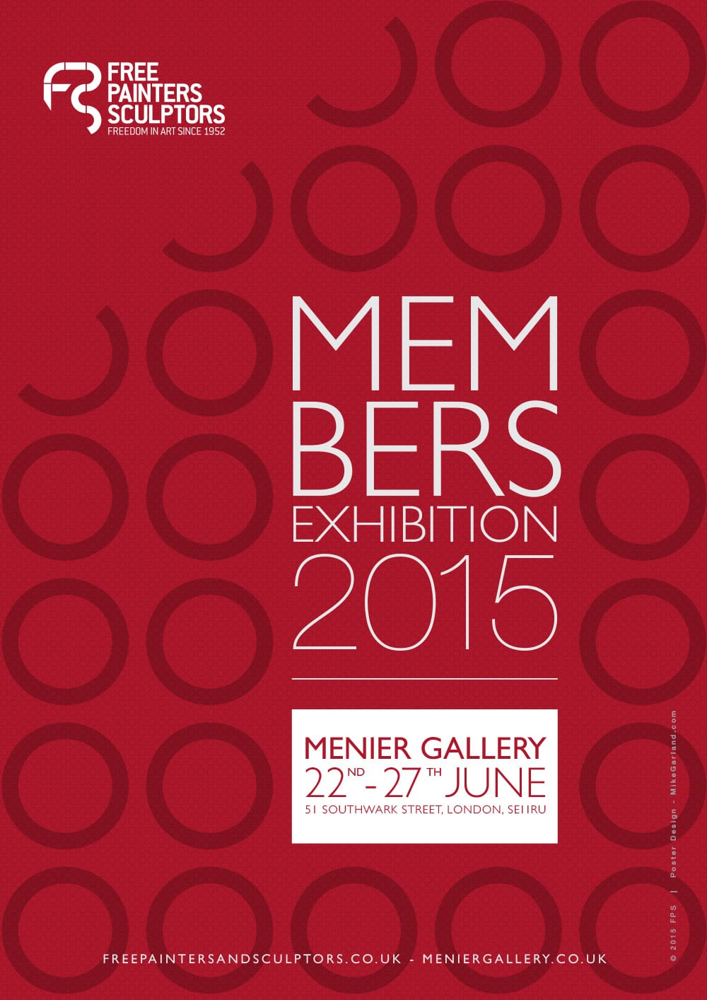 Mike-Garland-Free-Painters-and-Sculptors-Members-Exhibition-Poster-2015